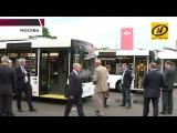 Новые модели автобусов МАЗ МГТ презентовали в Москве