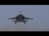 Подготовка и вылет Су-34 в Сирии