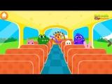 Мультики для детей. Детская песенка про автобус. Развивающие мультики для детей. Мультик песня.[1]