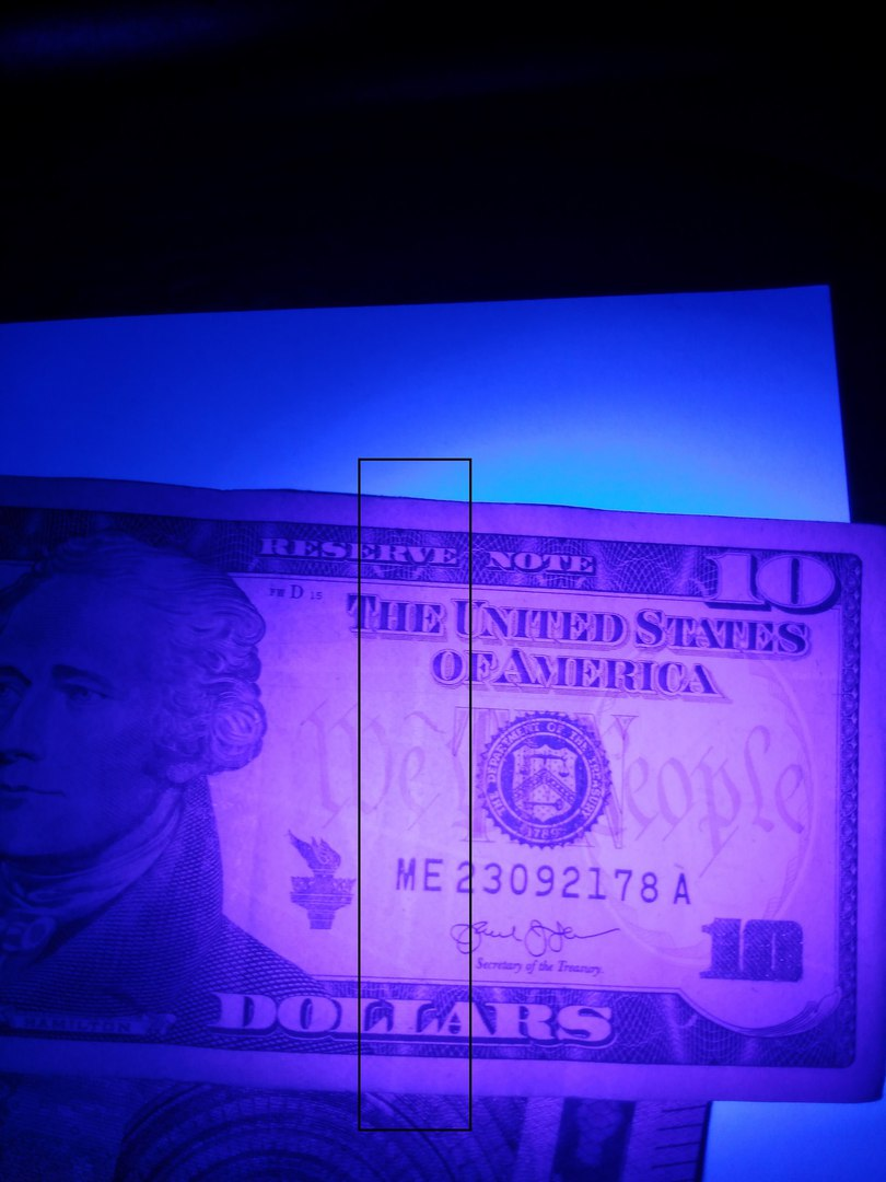 Aliexpress: Ультрафиолетовый фонарик (проверка купюр/биологических следов)