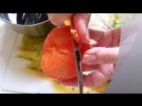 Как правильно и быстро очистить помидоры от кожицы.