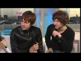 The Last Shadow Puppets (Alex Turner and Miles Kane) Reading Festival 2008 interview
