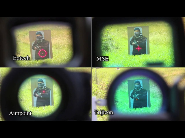 Reflex sight comparison