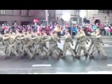 Нецензурный комментарий военного парада в честь дня независимости Эстонии