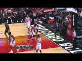 Paul George with a Huge Dunk! Indiana Pacers vs. Chicago Bulls, 20 October 2015