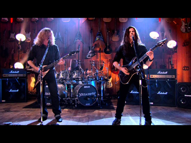 Megadeth Angry Again Guitar Center Sessions on DIRECTV