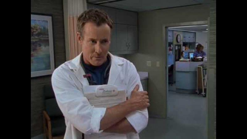 Доктор Кокс история про девственность Scrubs Клиника