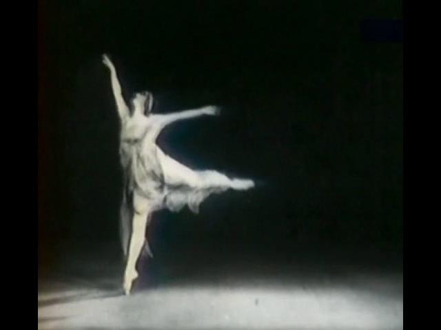 Anna Pavlova - 'La Nuit' (A Solo to Anton Rubenstein's Romance in E-flat Major op. 44)