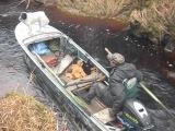 мотор Волгарь, проходимость лодки Казанка-М (Южанка)