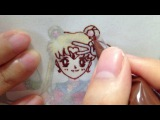 Sailor moon chocolate art &amp Happy Kitchen kit GIVEAWAY(closed)