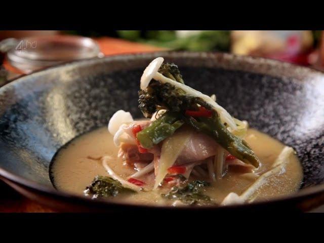 Рецепт от Гордона Рамзи - Мисо лосось
