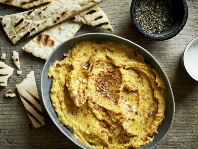 Рецепт от Гордона Рамзи - Обжаренный измельченный Хумус