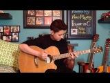 Prayer in C - Robin Schulz Remix - Fingerstyle Guitar Cover
