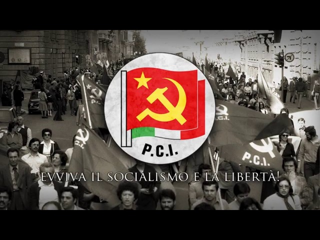 Italian Communist Party Anthem - Bandiera rossa