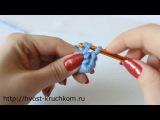 Уроки вязания крючком. Урок №6 - кольцо амигуруми
