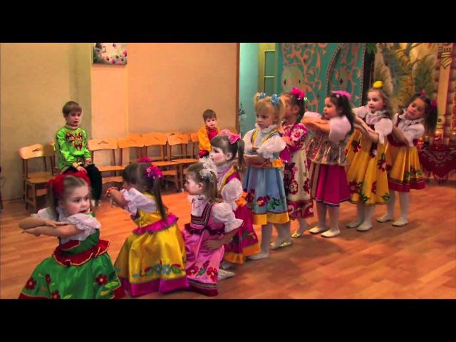 Детский танец - русские матрёшки