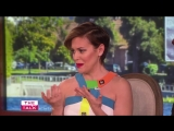 The Talk - Alyssa Milano Star-Struck by Bon Jovi: 'I literally couldn't talk to him' | 2016