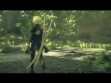 Nier_ Automata - Debut Gameplay Trailer