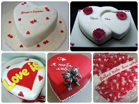 Украсить торт любимому своими руками 12