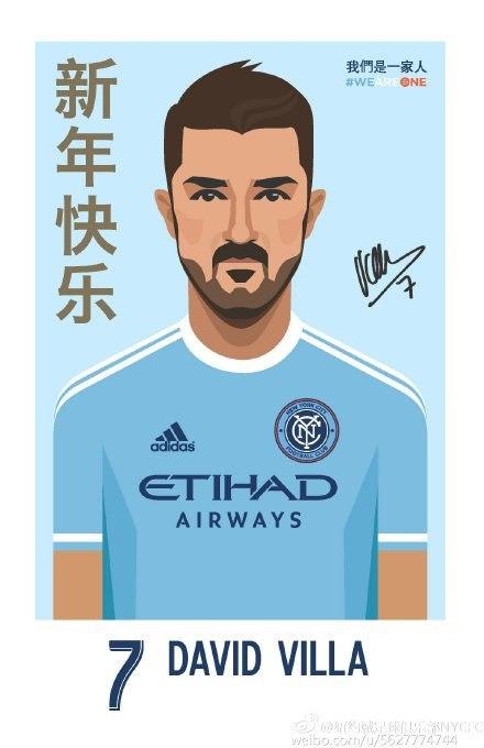 Chineese David Villa