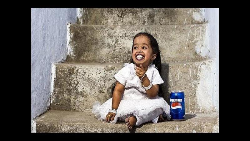 Самая маленькая женщина в мире Девушка с ростом в 62 8 сантиметров