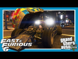 GTA 5: Fast and Furious 6 Flip Car Scene Remake (Amazing Ramp Car Mod)