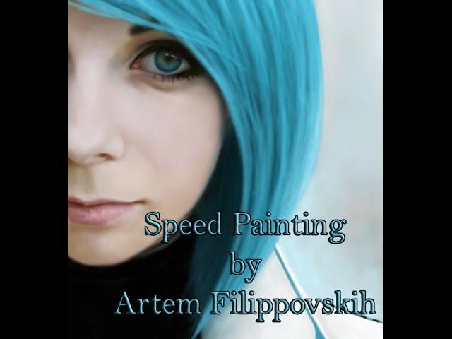 Ann Rossiel - Speed Painting by Artem Filippovskih