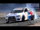 550hp RWD Mitsubishi Lancer Evo X Proto Great Drifting Sound
