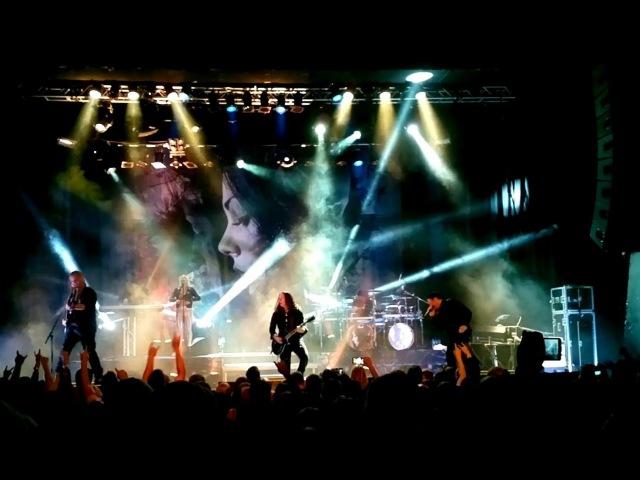 Kamelot - Veil of Elysium When the Lights are Down, HD,Live Sentrum Scene,Oslo 26.09.15