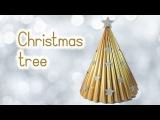 DIY Christmas crafts: CHRISTMAS TREE recycling a magazine - Innova Crafts
