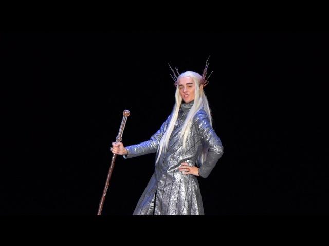 AnimaniA 2014 Bilbo Baggins, Thranduil - The Hobbit The Desolation of Smaug Cosplay Defile