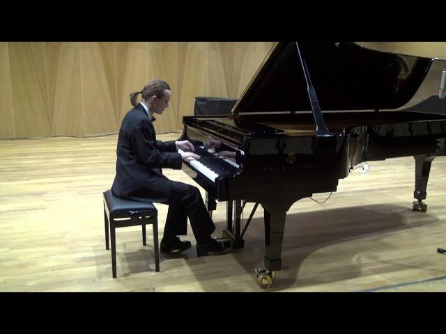 Александр Лубянцев Lubyantsev playing Bach WTC b2 g minor, Chopin Etude 4, Ravel Gaspard de la Nuit