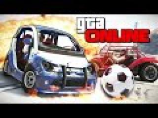 GTA 5 Online (Гонки) - Самый Убойный Футбол! #165