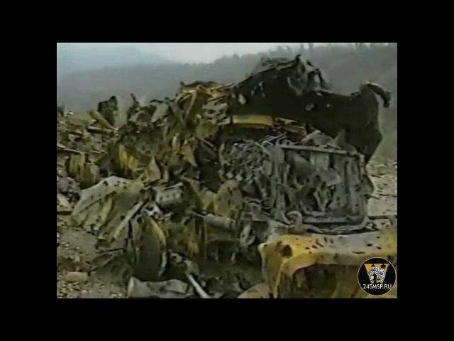 Подбитая техника 245 мсп под Ярыш-Марды