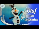 [vk.com/LakomkaVK] How to make fondant Olaf cake decoration / Jak zrobić Olafa z masy cukrowej