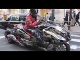 Невероятный тюнинг макси скутера Tuning maxi scooter
