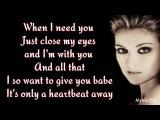 Celine Dion - When I Need You (lyrics) 90's Throwback