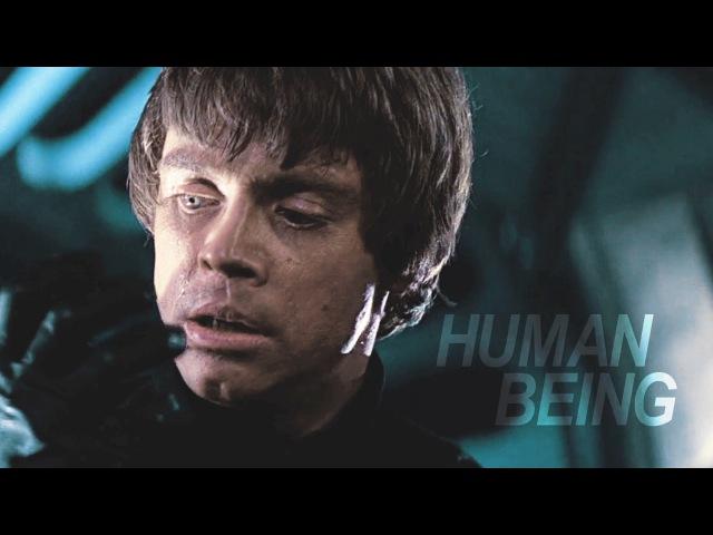 You are not a human being [dark!luke skywalker au]