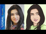 VECTOR VEXEL PHOTOSHOP TUTORIAL FACE #BASIC 01 (Isyana Sarasvati)