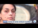 Торжество зла: в Детройте открыт памятник в славу Сатане