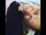 Папуля с щенком