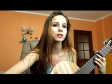 Красивая девушка Катя Алексеева - This is the life(cover) | Pretty girl Kate Alekseeva - This is the life(cover)