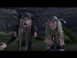 Драконы: Всадники Олуха / Драконы: Защитники Олуха 2 СЕЗОН - 14. Застывший