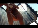 tanned slim babe slowly takes off swimsuit and dresses 720p вуайеризм скрытая камера порно подглядывания