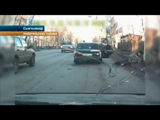 Экшен из Сыктывкара - В Сыктывкаре мужчина вступился за другого на улице, избил двух его обидчиков