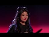 Paula DeAnda Audition The Way (The Voice Highlight)