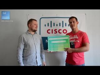 Курсы Ciscо, Курсы Linux, Поздравляем нашего победителя Виталия Боера!!