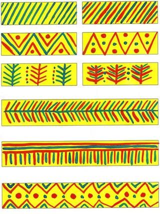 филимоновская игрушка раскраска и шаблон
