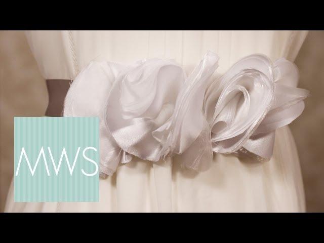 Ruffle Waist Sash: Maid At Home 2