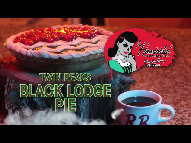 Twin Peaks Black Lodge Pie Recipe – The Homicidal Homemaker Horror Cooking Show